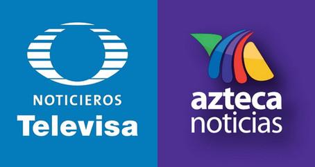 Noticieros Televisa vs Azteca Noticias o nadie sabe para quién trabaja
