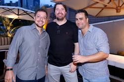 Marcio Sacomano, Marcio Passero e Guto Galiano