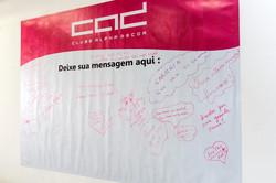 Mural com Mensagens