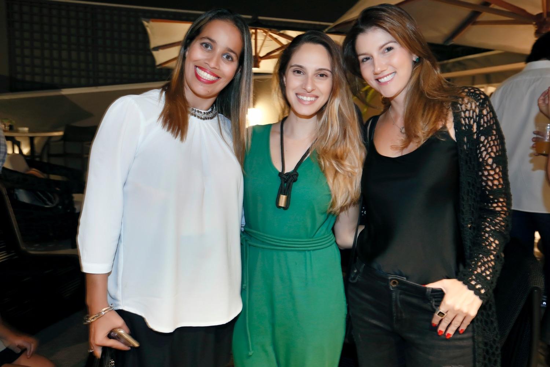 Raquel Lampoglia, Lais Berardo e Rebecca Catalucci