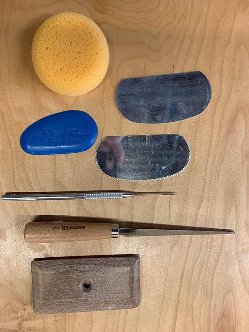 Handbuilding Tool Kit Rental