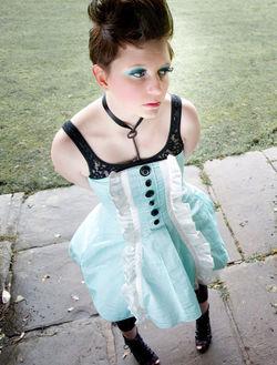 Alice inspired dress