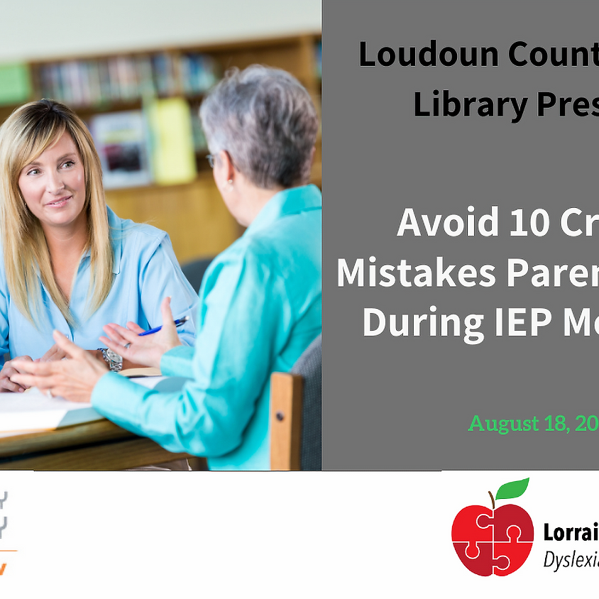 Avoid 10 Critical Mistakes Parents Make During IEP Meetings
