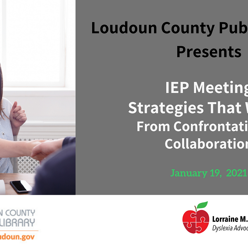IEP Meeting Strategies That Work: From Confrontation to Collaboration