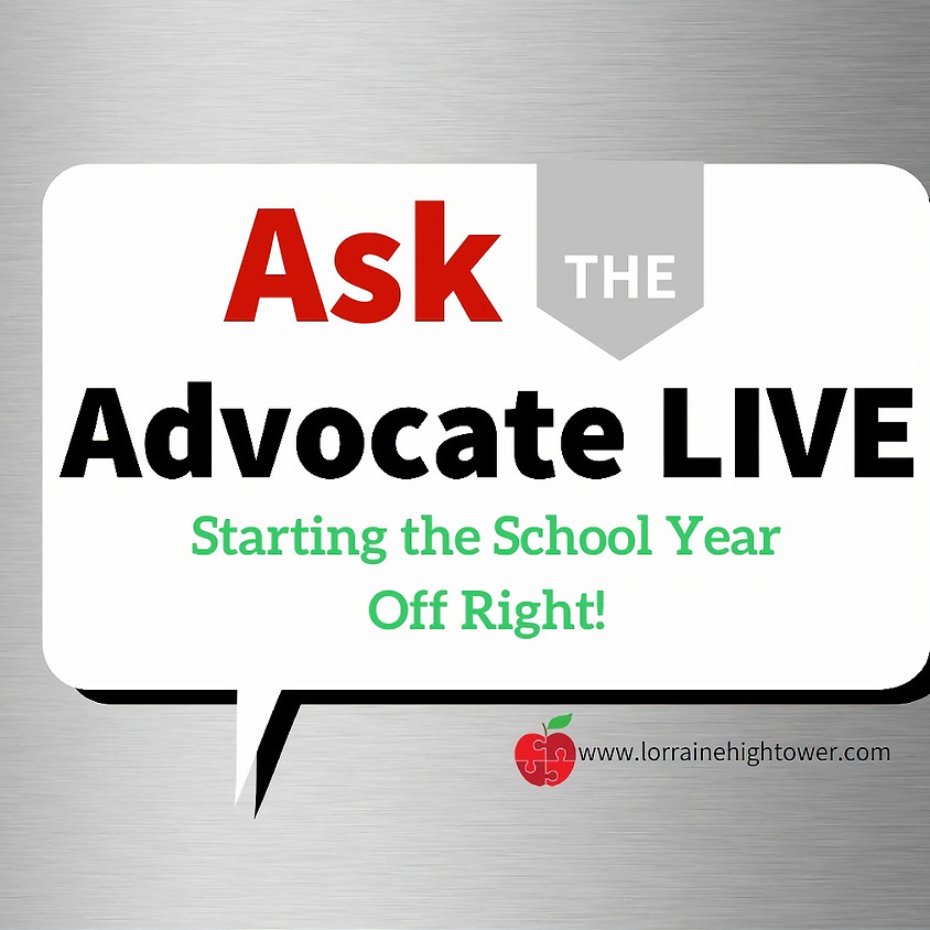 Ask the Advocate LIVE