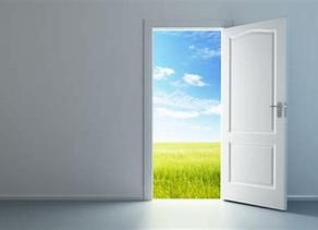 Come on in - the door is open