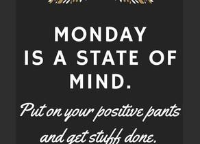 Monday motivation in lockdown