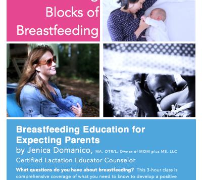 MOM plus Me Breastfeeding Class