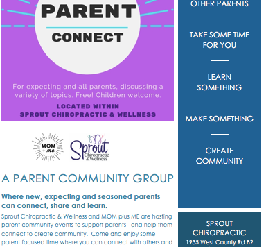 New Winter/Spring Parent Connect