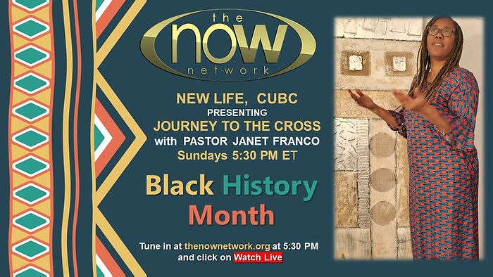 Journey to the Cross - Black History Mon