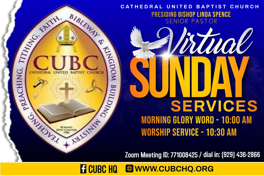 Virtual Sunday service  - PosterMyWall.j