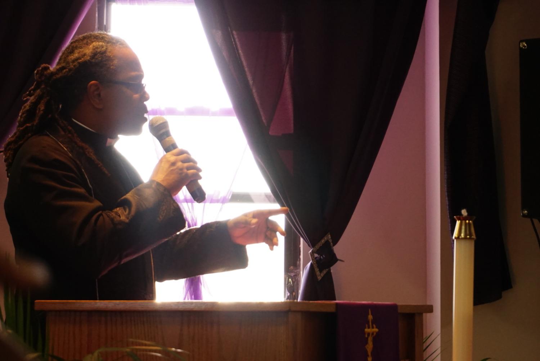 Presiding Elder Boyce Landrum