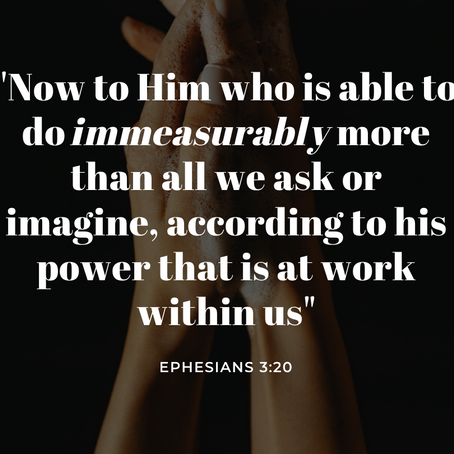Ephesians 3: The Great Planner