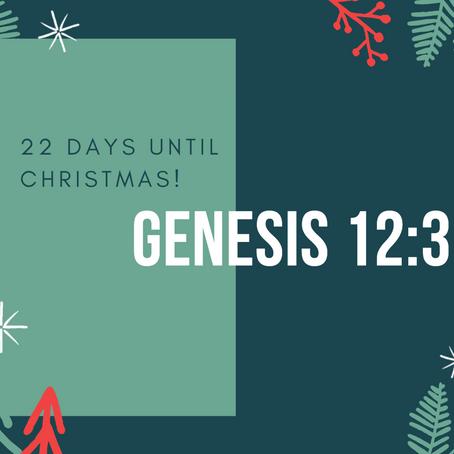22 Days - Genesis 12:3