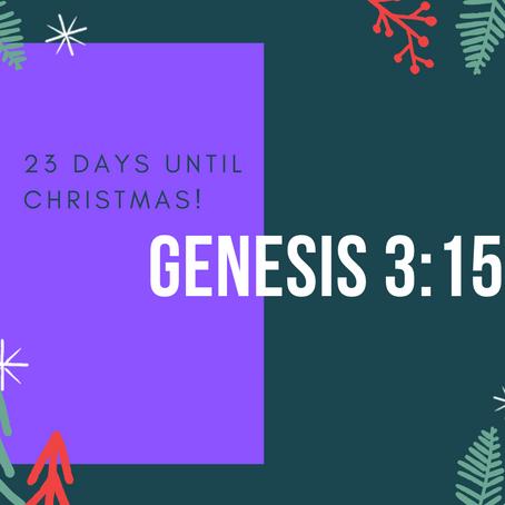 23 Days - Genesis 3:15