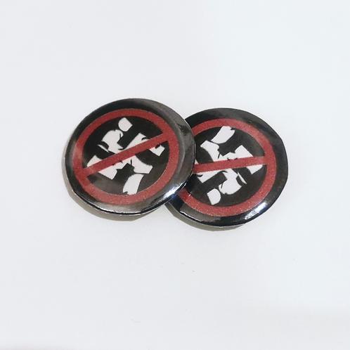 1x Button gegen Nazis