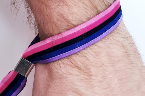 Omnisexuell | Pridearmband