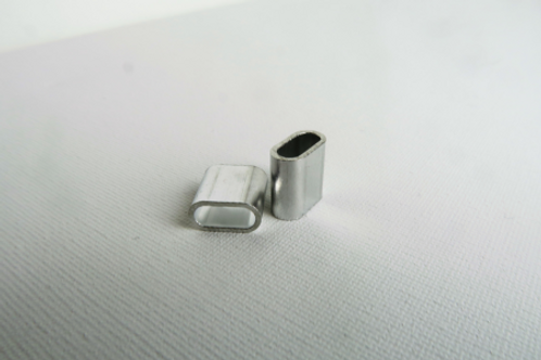 Aluminiumverschluss für Festivalbänder | silber