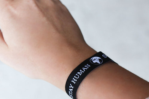 Stay Human - Support Refugees | Spendenarmband