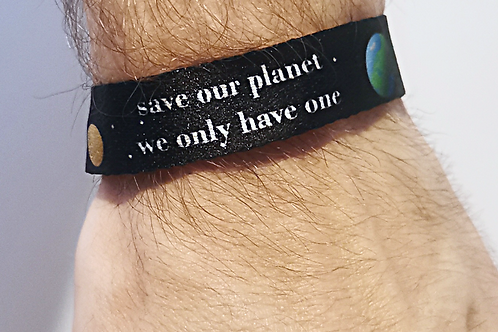 Save our planet - we only have one