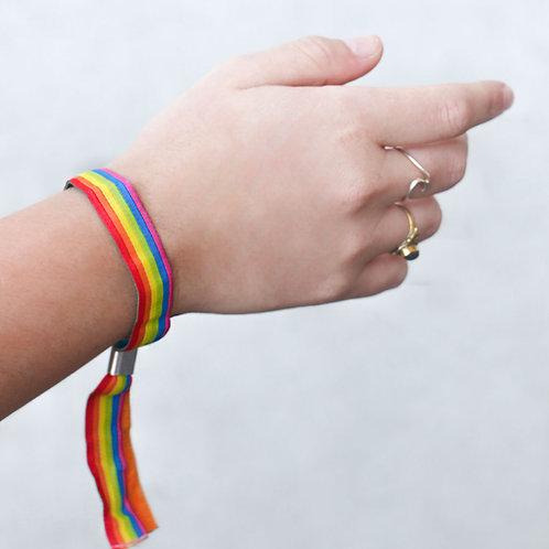 Lgbtq+ Regenbogen | Pridearmband