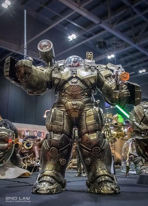 Steampnk robot