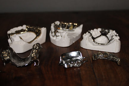 Steampunk dentures