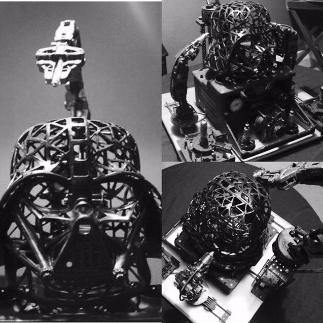 Westworld inspired Vader Helmet