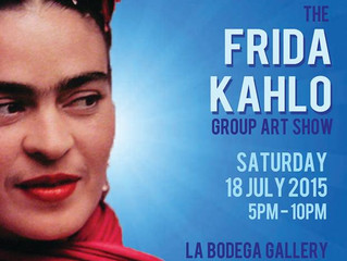 Frida Kahlo Group Art Show
