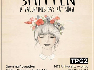 Smitten: A Valentine's Day Art Show (February 6 - March 1)