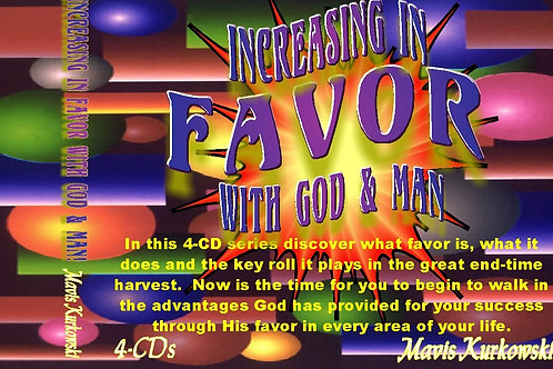 Increasing in Favor with God & Man!!