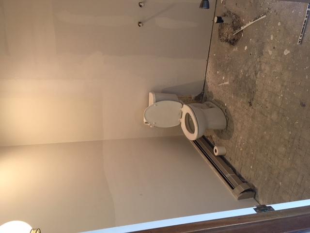 Staff bathroom