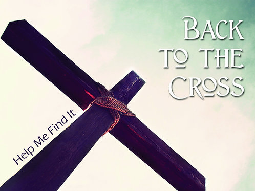 MP3 CD Back to the Cross