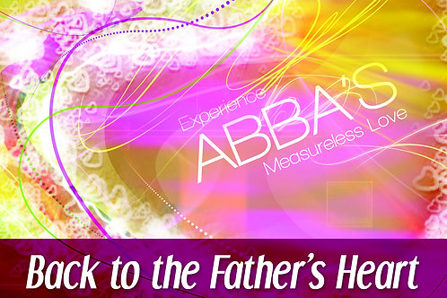 MP3 CD Back to the Father's Heart