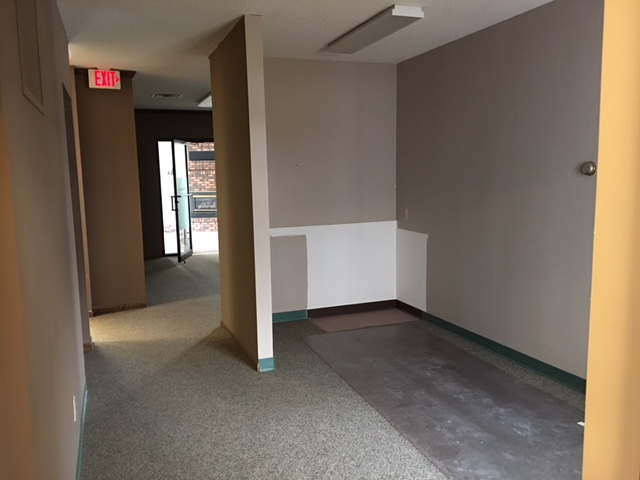 Hallway and sitting area