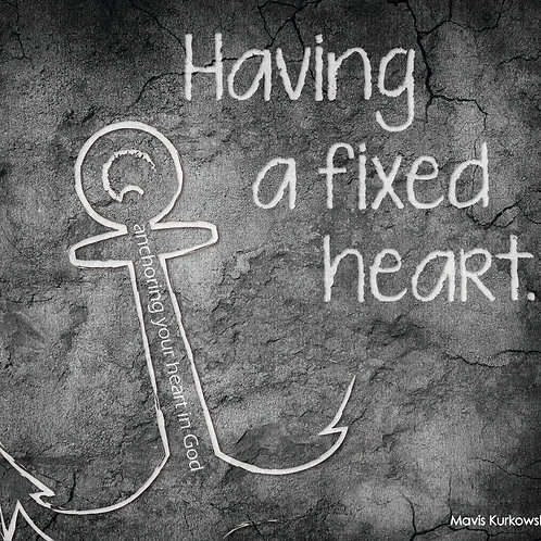 Having a Fixed Heart!