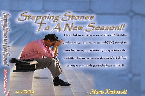 MP3 CD Stepping Stones to a New Season