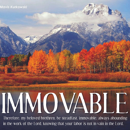Immovable!