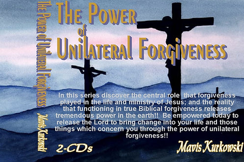 The Power of Unilateral Forgiveness!