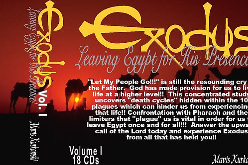 MP3 CD Exodus: Leaving Egypt for His Presence!!