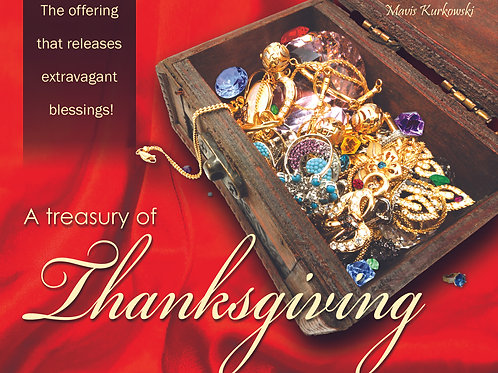 MP3 CD A Treasury of Thanksgiving