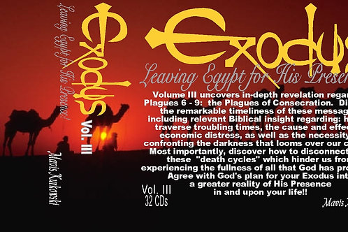 MP3 CD Exodus: Leaving Egypt for His Presence!