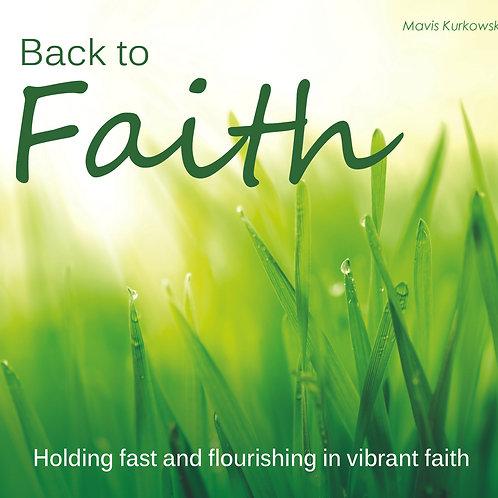 Back to Faith!!!