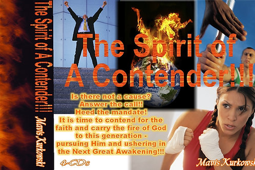 MP3 CD The Spirit of a Contender