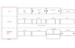Mini site take over wireframe