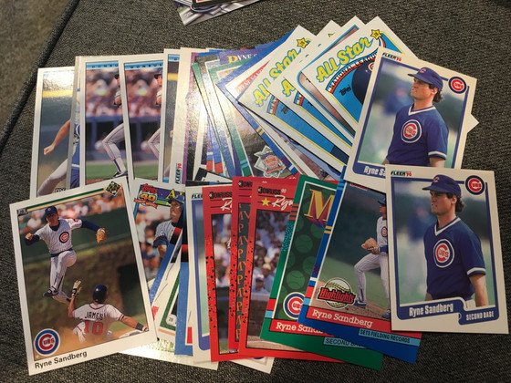 One Million Cubs Mailday Featuring Sandberg and Parallels