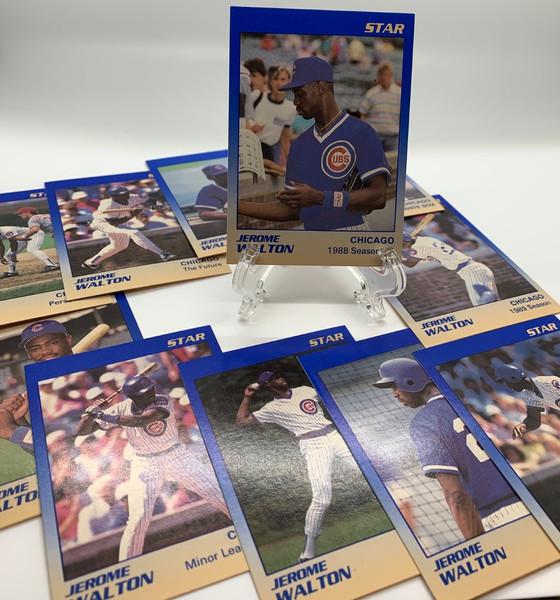 Surplus of Star Jerome Walton Cubs Cards