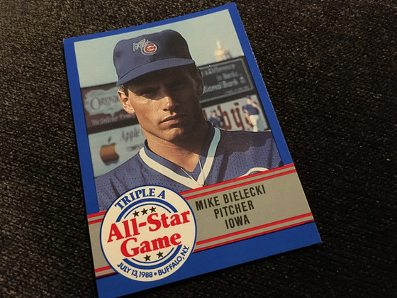 New Mike Bielecki and Dwight Smith Cards Added to the Cubs Collection