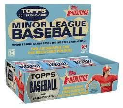 Topps Heritage Minors Through the Years