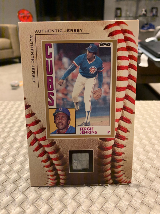 Fergie Jenkins Magic In This Mailday
